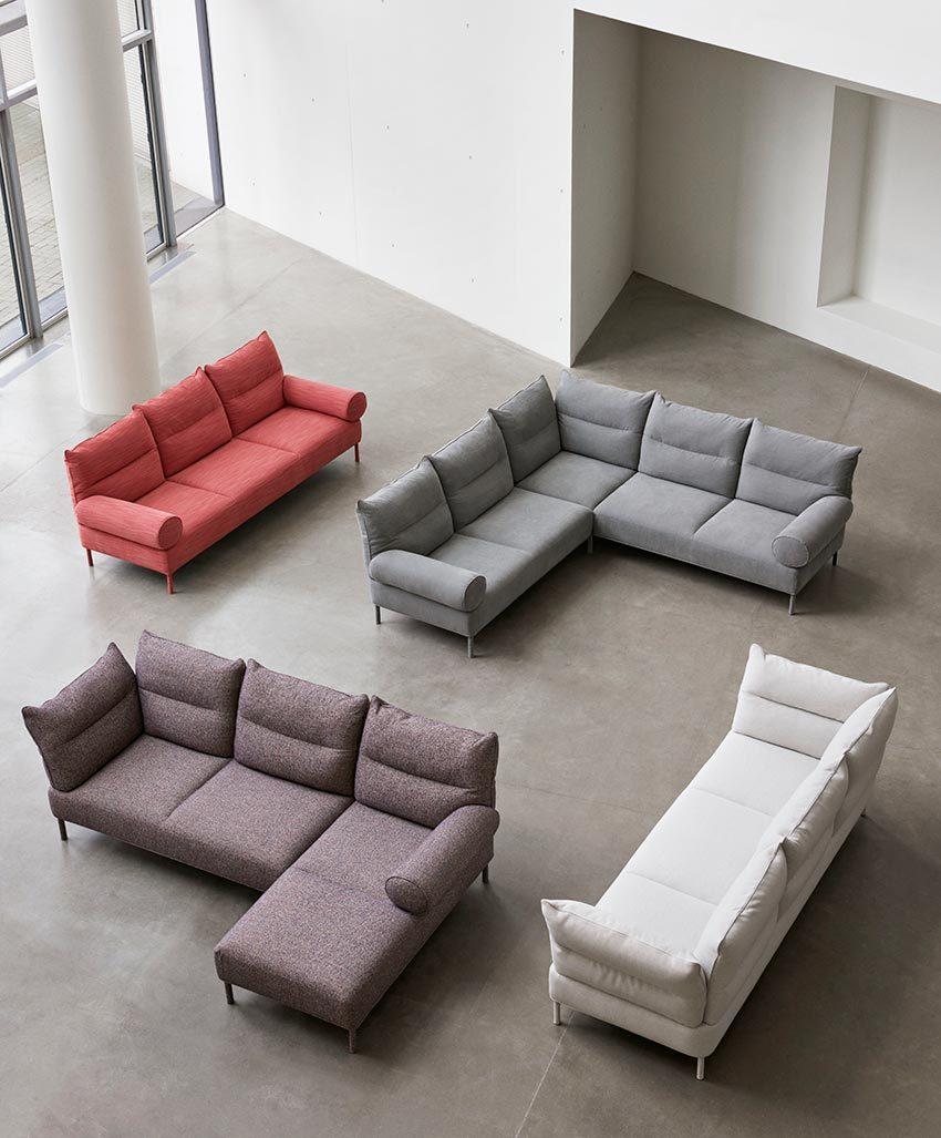 pandarine HAY verschillende mogelijkheden sofa