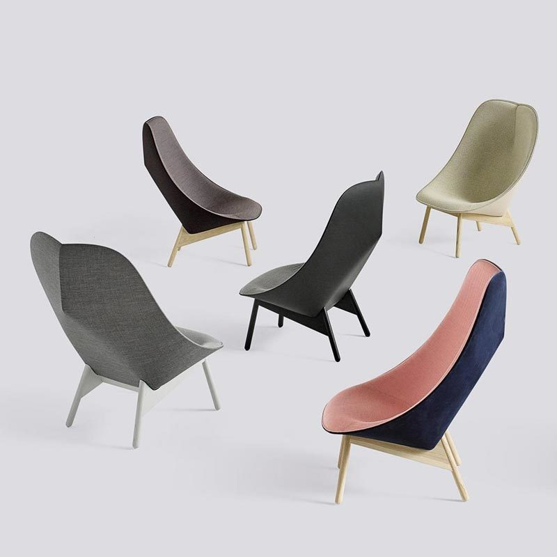 Comfortabele Design Fauteuil.Elegante En Comfortabele Design Fauteuil Uchiwa Van Hay Kopen