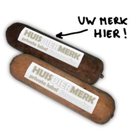 Uw eigen merk vers vlees voor hond en kat (KVV, BARF)