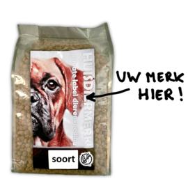 Uw eigen merk graanvrij hondenvoer