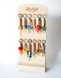 display sleutelhangers