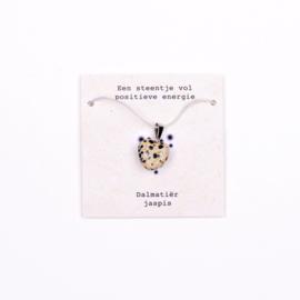 Ketting- Dalmatiër jaspis