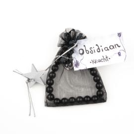 Armband Obsidiaan-kracht