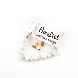 Armband Howliet- Positieve energie