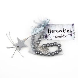 Armband Hematiet- kracht