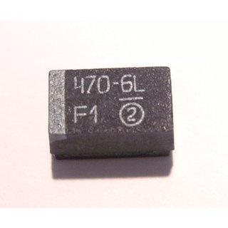 Stützkondensator SMD  470 µF/ 6,3 V