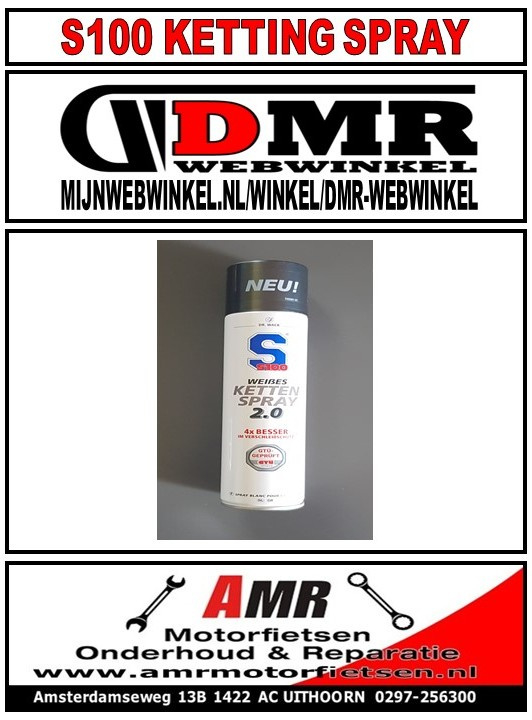 S100 Witte Kettingspray 400ML