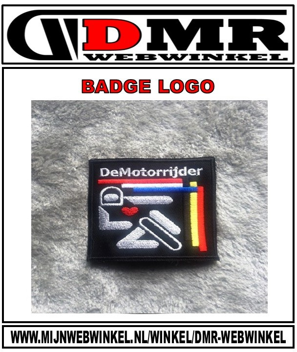 DMR BADGE 8X8cm