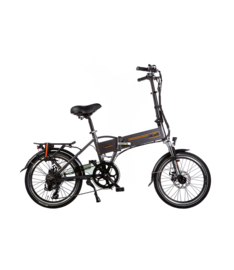 Lacros Trotter T200 matgrijs (elektrische vouwfiets)