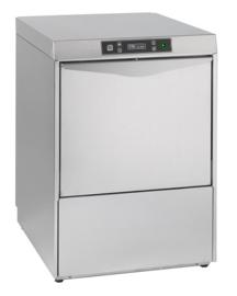 Multinox voorlader vaatwasmachine digitale bediening met zeepdoseerpomp