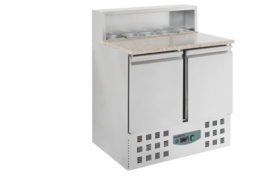 Multinox Pizza koelwerkbank met 2 deuren 1/1 GN