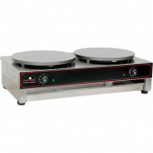 Caterchef elektrische crepe maker - 2 x Ø 400 mm