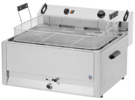 Multinox elektrische tafel friteuse / oliebol friteuse - 16 liter