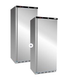Multinox koel- en vrieskast - 570+555 liter