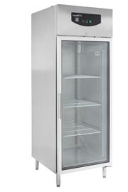 Multinox RVS koelkast met glasdeur