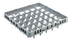 Multinox opzetrand voor vaatwaskorf - 36 glazen