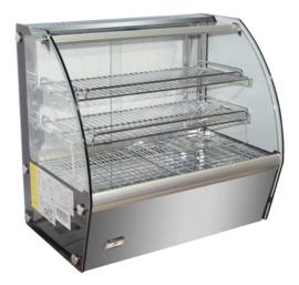 Multinox warmhoud opzetvitrine - 100 liter