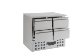 Multinox koelwerkbank - 4 laden