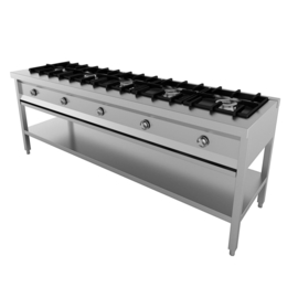 Multinox pannenkoekentafel - 5 pits