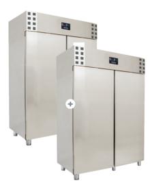 Multinox koel- en vrieskast - 1200+1200 liter - Pro line