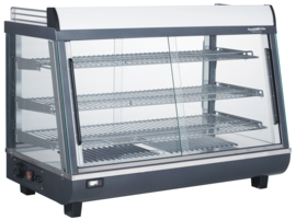 Multinox warmhoudvitrine - 136 liter