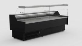 Multinox koeltoonbank zwart  - 1584 mm x 815 mm