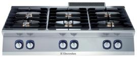 Electrolux Gasfornuis met 6 branders