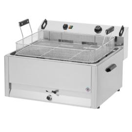 Multinox elektrische tafel friteuse / oliebol friteuse - 30 liter