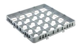 Multinox opzetrand voor vaatwaskorf - 25 glazen