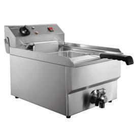 Multinox elektrische tafel friteuse - 8 liter