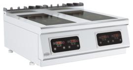 Elektrische tafelmodel inductie 4 x 2,6 kW