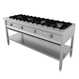 Multinox pannenkoekentafel - 4 pits