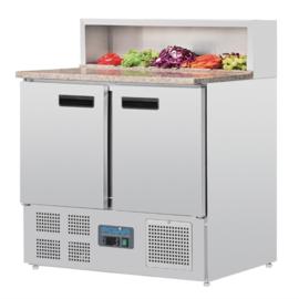 Polar gekoelde saladette 288 liter