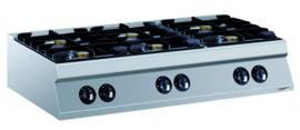 Gaskookunit 900 lijn - 2 x 10 / 4 x 6 kW