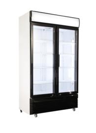 Multinox koelkast met glasdeuren