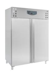 Multinox dubbeldeurs RVS koelkast - 1410 liter