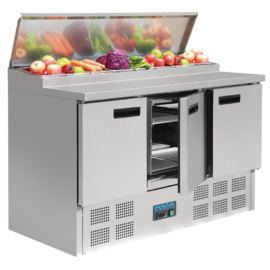 Polar gekoelde saladette 390 liter