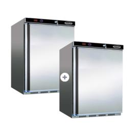 Multinox tafelmodel koel-en vrieskast 130+120 liter