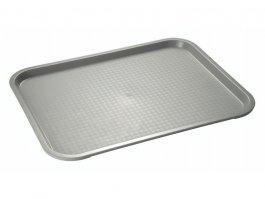 Fastfood dienblad - grijs - 35 x 27 cm