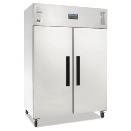 Polar 2 deurs koeling RVS 1200 liter