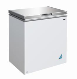 Multinox vrieskist met RVS deksel - 148 liter