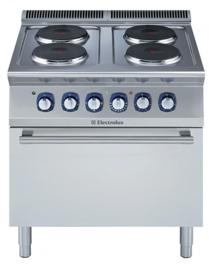 Electrolux elektrisch fornuis 700XP. 4 kookplaten