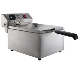 Multinox elektrische tafel friteuse - 6 liter