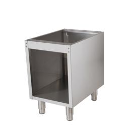 RVS onderstel t.b.v. 700 tafelmodel lijn - 400 mm breed