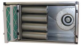 Multinox geurfilterkast B - 2000 m2 + motor