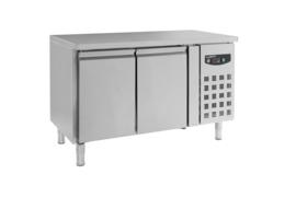 Multinox koelwerkbank - 2 deuren 600 diep 1340 breed