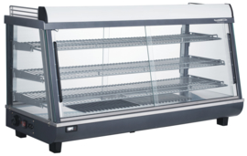 Multinox warmhoudvitrine - 186 liter