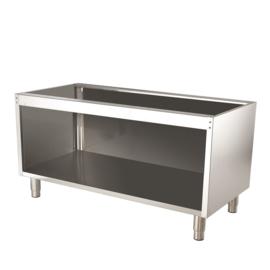 RVS onderstel t.b.v. 700 tafelmodel lijn - 1200 mm breed