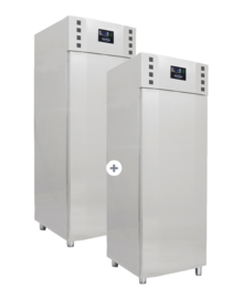 Multinox koel- en vrieskast - 550 + 550 liter Pro line