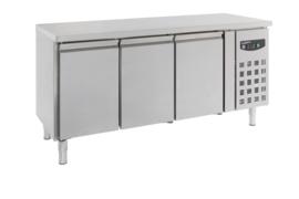 Multinox koelwerkbank - 3 deuren 600 diep